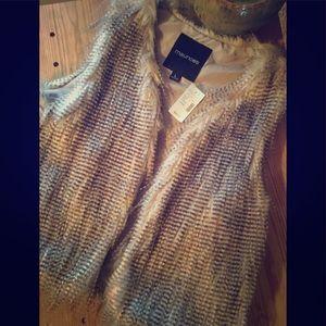 NWT Fake Fur Vest
